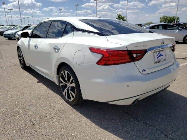 Pre-Owned 2017 Nissan Maxima 3.5 SV