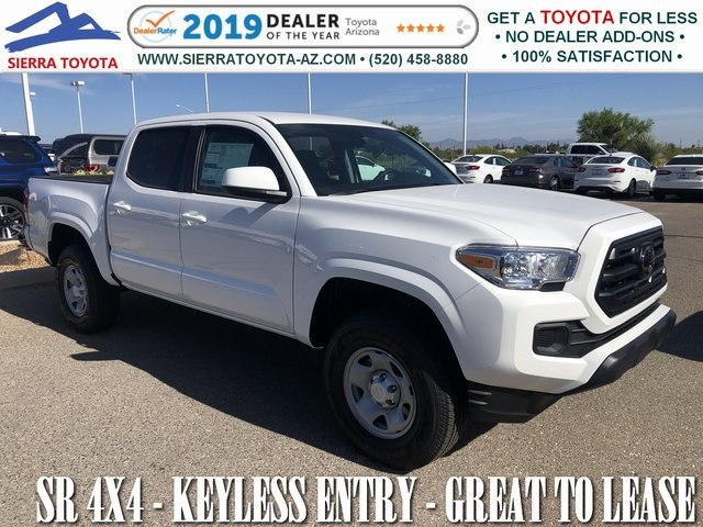 New 2019 Toyota Tacoma SR Double Cab 5' Bed V6 AT (Natl)