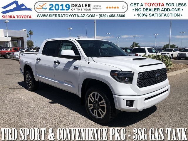 New 2019 Toyota Tundra SR5 CrewMax 5 5' Bed 5 7L (Natl)